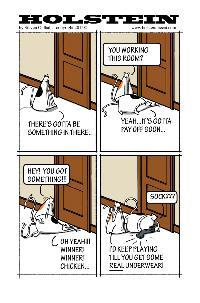 Jackpot Kitty by Holstein the Cat